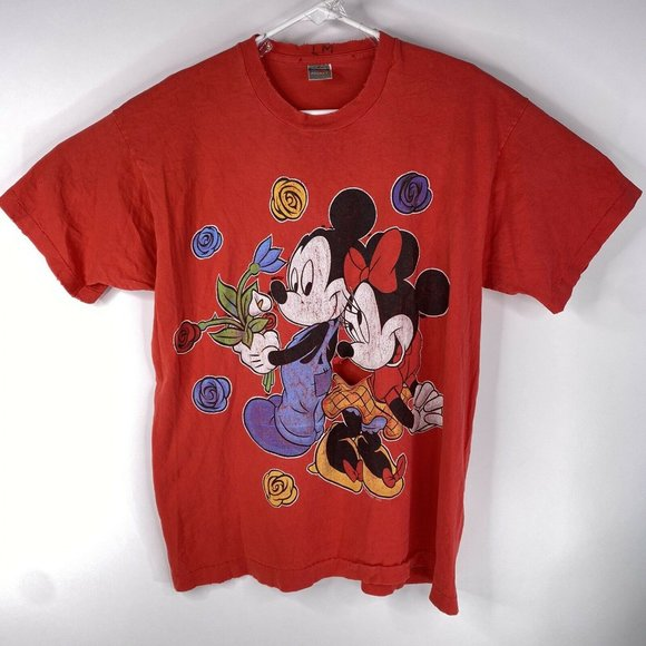 Vintage Disney Unlimited Mickey Mouse  T Shirt Os